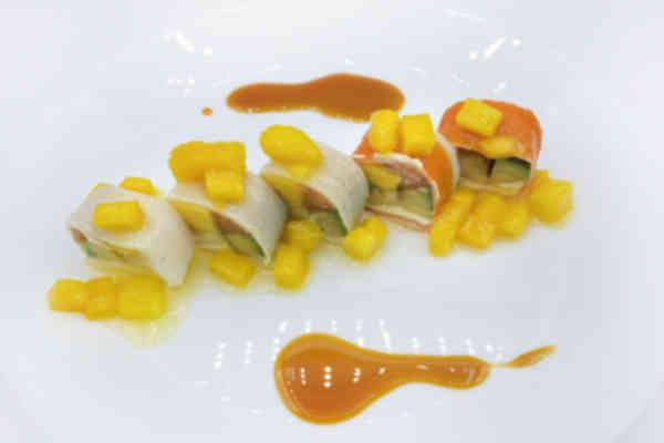 Mango fruity rolls