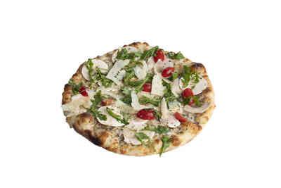 Pizza à la crème de truffes